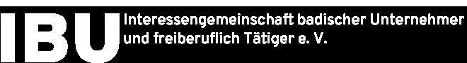 IBU - Interessengemeinschaft badischer Unternehmer und freiberuflich Tätiger e.V. logo